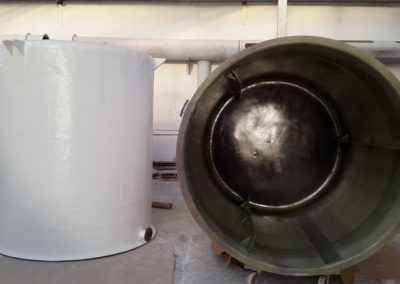 m_GRP CHEMICAL MIXING TANK WITH BAFFLES